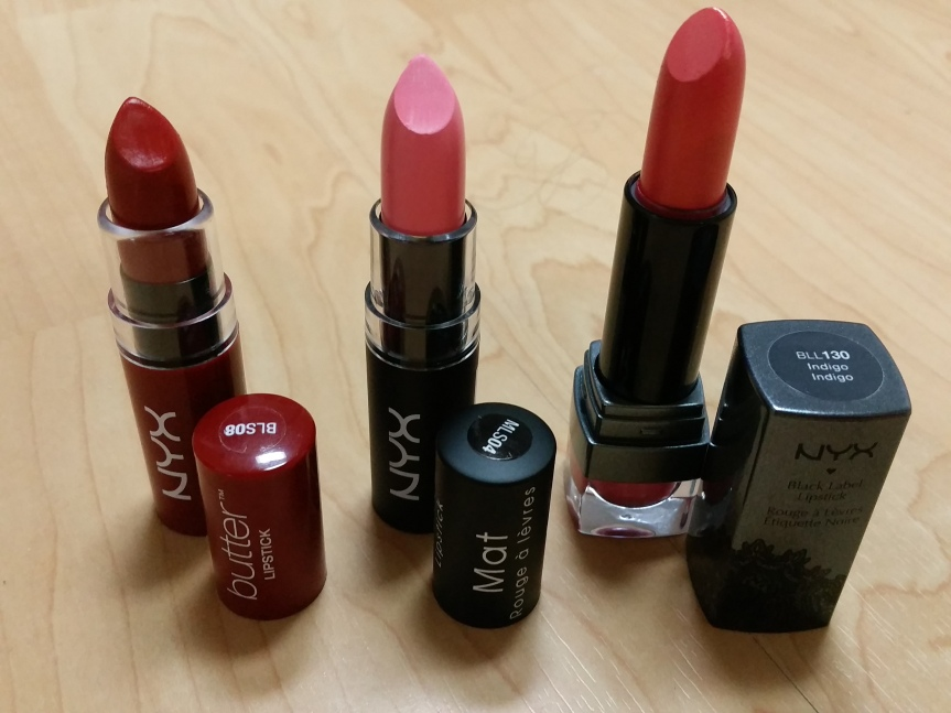 Review – My Very First NYX Purchases