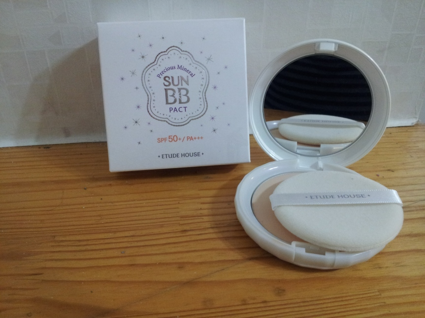 Favourite Makeup – Etude House Precious Mineral Sun BB Pact (SPF50+, PA+++)