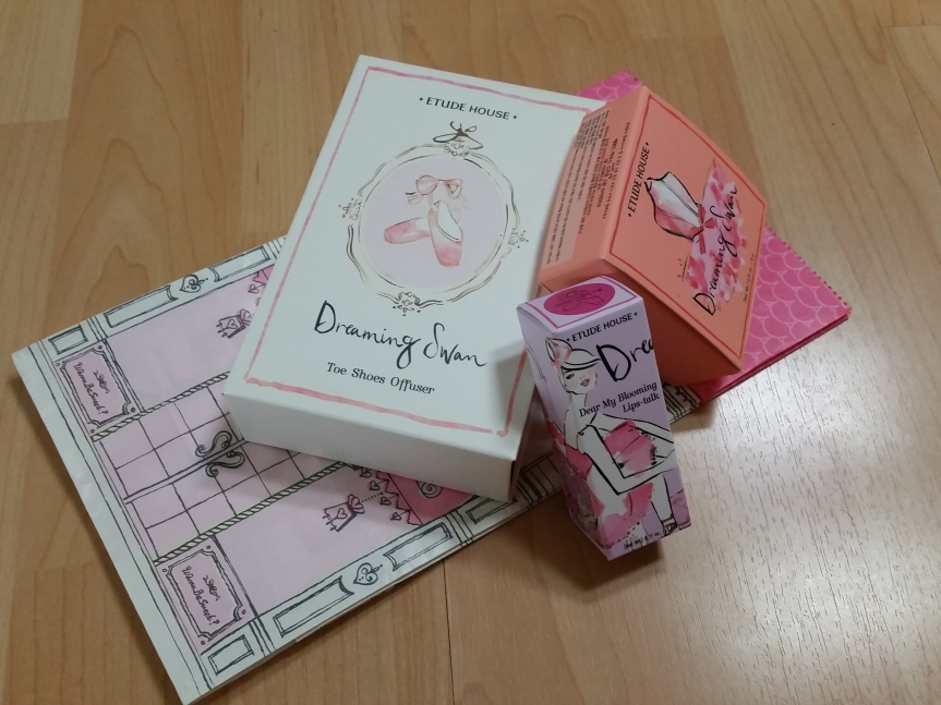 First Impressions – Etude House 'Dreaming Swan'Line