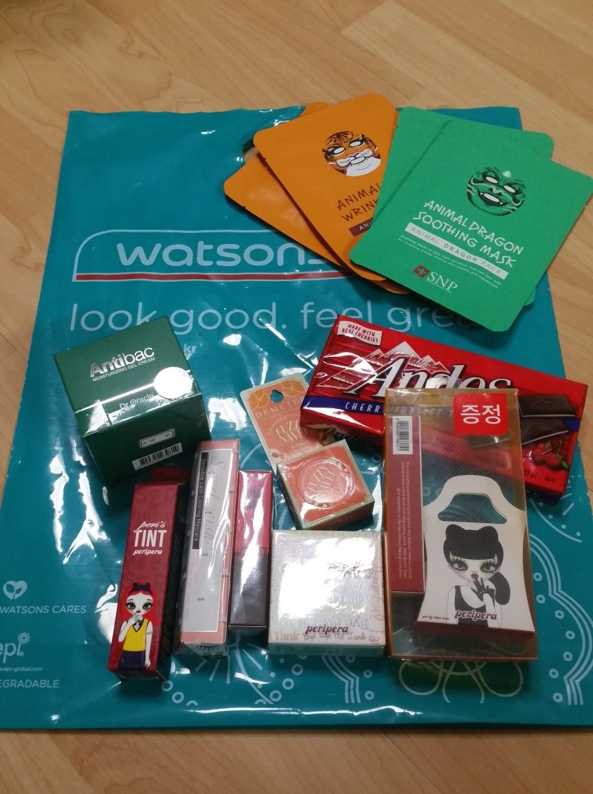 Watsons Haul – Peripera and others (April 2015)