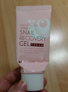 Mizon Snail Gel Old 01