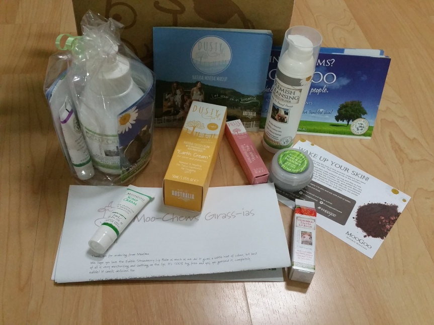 Online Haul and First Impressions – MooGoo and Dusty Girls(June)