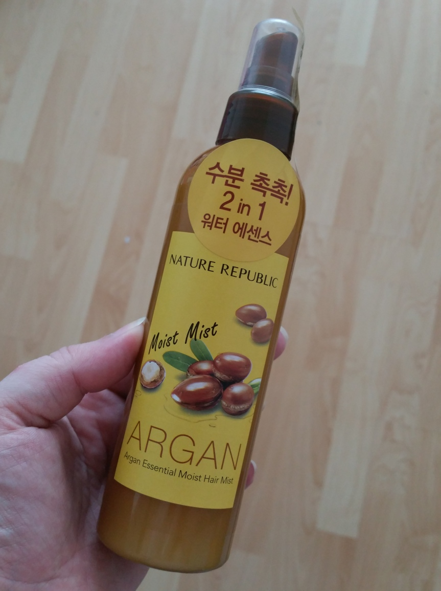 Review – Nature Republic Argan Essential Moist Hair Mist