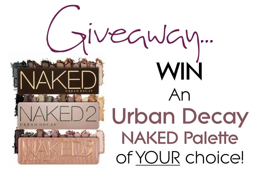 Reblog: GIVEAWAY: Win An Urban Decay NAKED Palette Of YourChoice!