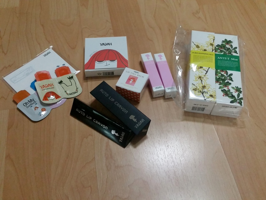 Gmarket Haul and First Impressions – Yadah (June)