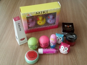 Various Lip Products