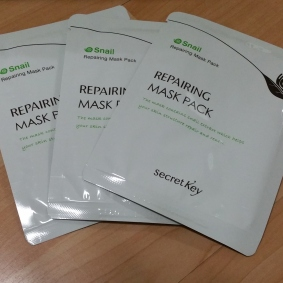 Secret Key Snail Sheet Mask