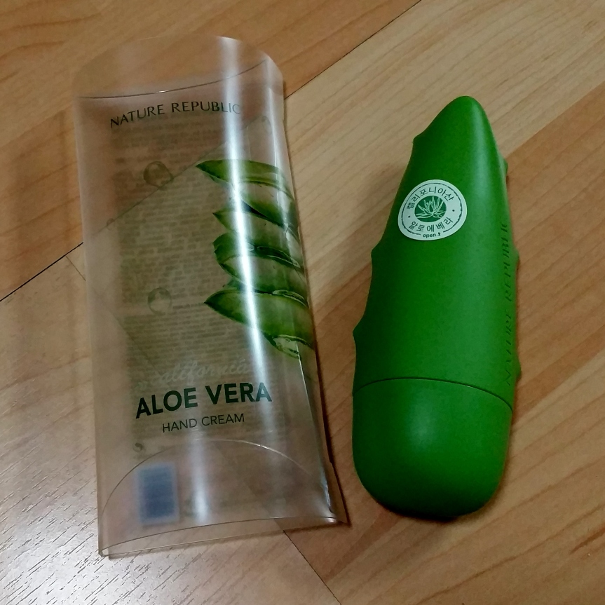 Review – Nature Republic Aloe Vera Hand Cream