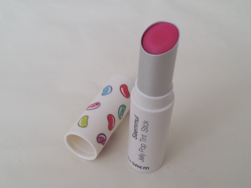 Review -The Saem Saemmul Jelly Pop Tint Stick in no.04 Cranberry Shake