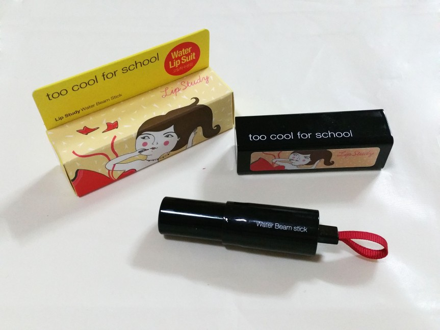 Review – Too Cool For School Artify Lip Study Water Beam Stick in no.01 Tint Red