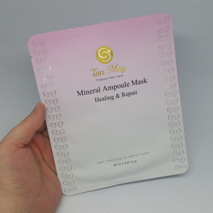 Masking – Tan May Mineral Ampoule Mask (Healing &Repair)