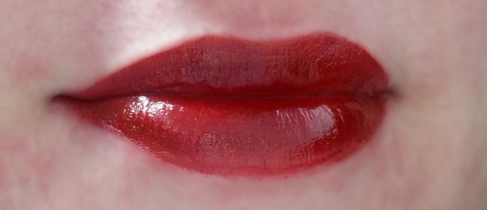 With Lip Liner