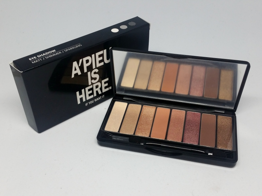 Review – A'pieu Full Color Eyes Palette (My Daily)