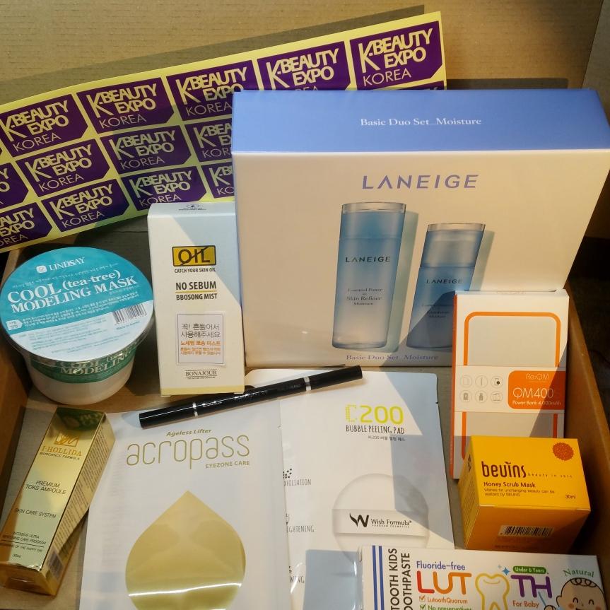 K-Beauty Expo – Unboxing Expo Beauty Box2