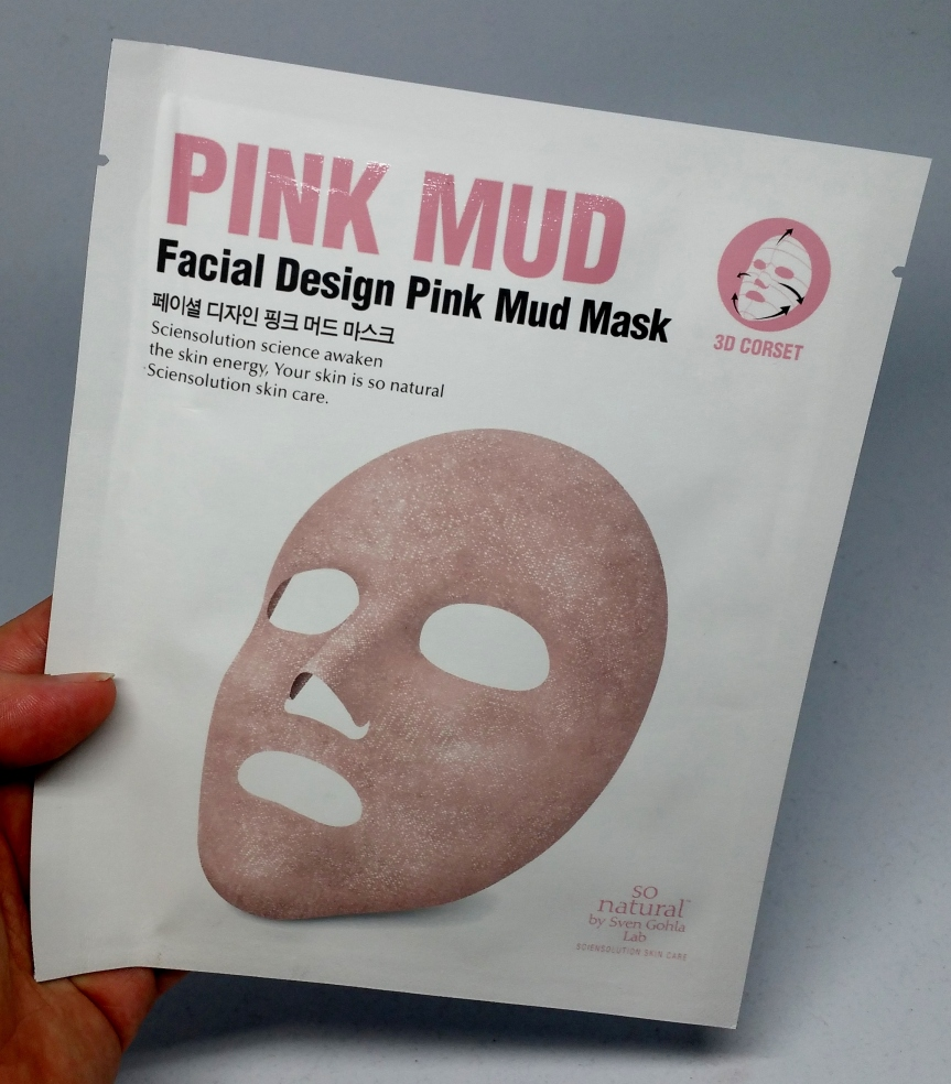 Masking – So Natural Facial Design Pink Mud Mask
