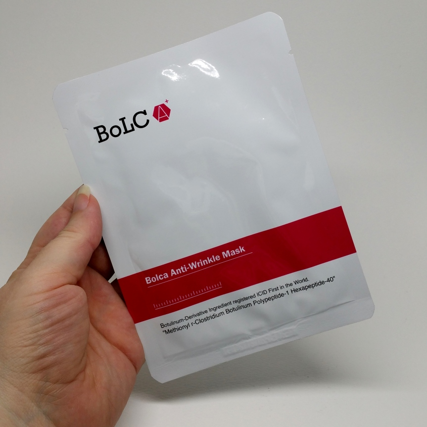 K-Beauty Expo – BoLCA+ Anti-Wrinkle Mask