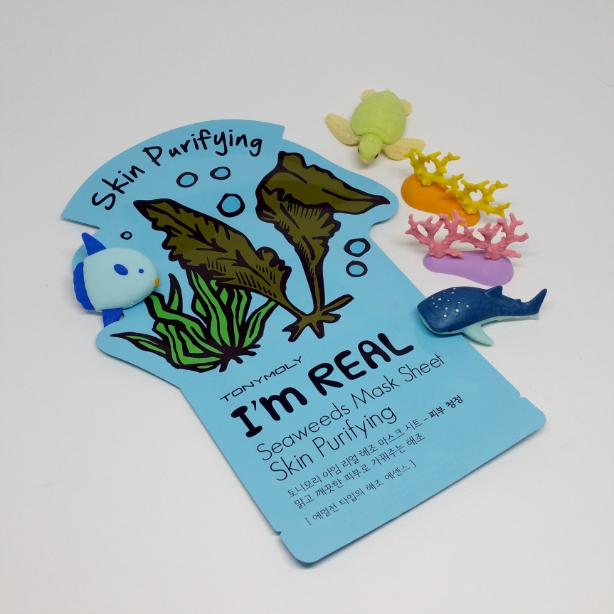 Masking – Tony Moly I'm Real Seaweeds Mask Sheet (Skin Purifying)