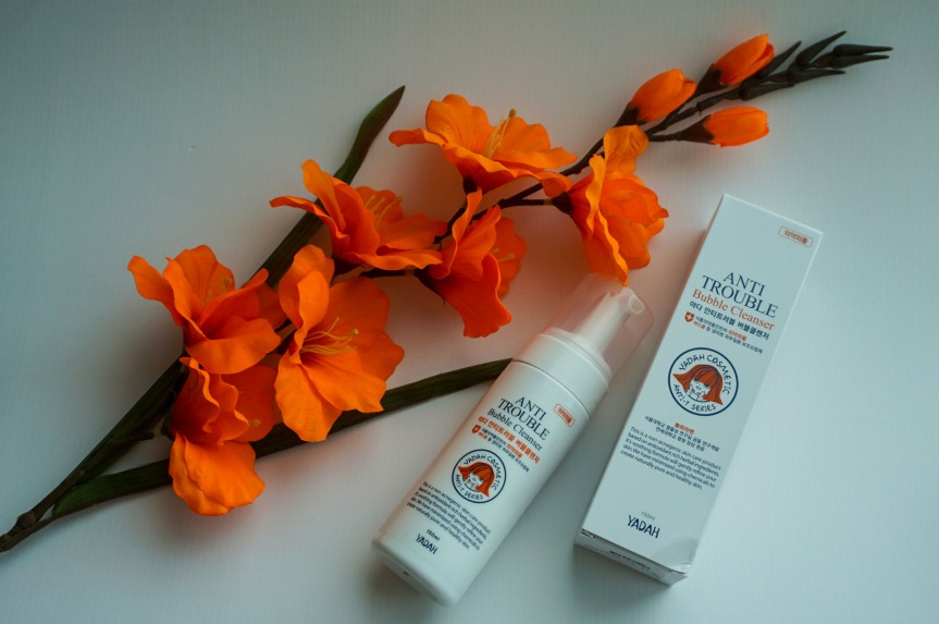 Review – Yadah Anti-Trouble Bubble Cleanser