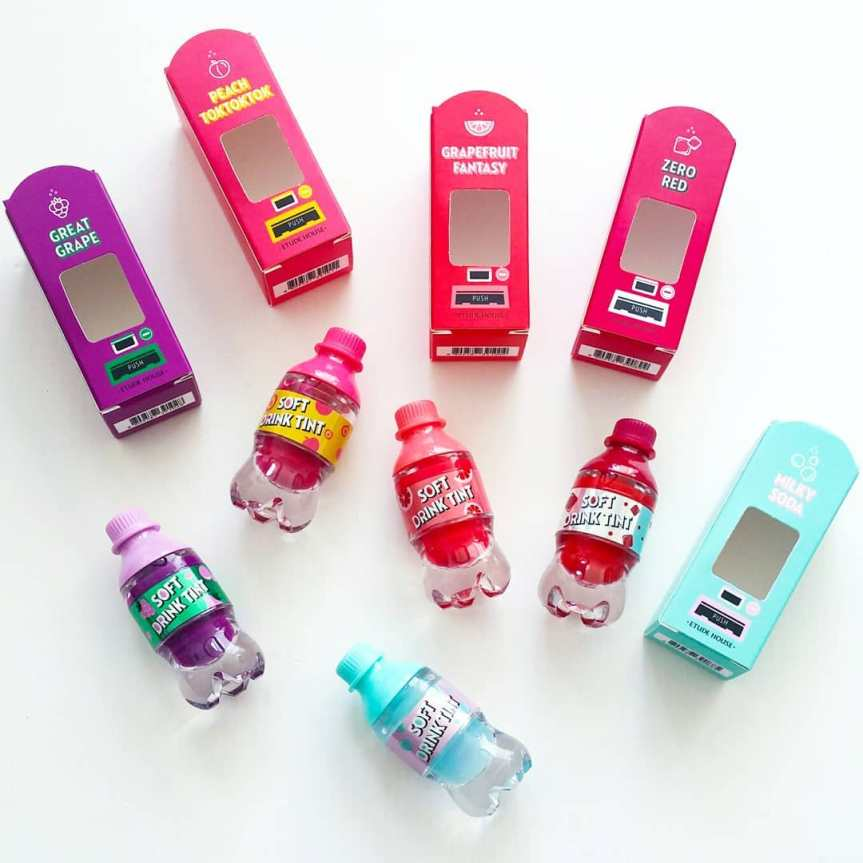 First Impressions – Etude House Soft DrinkTints