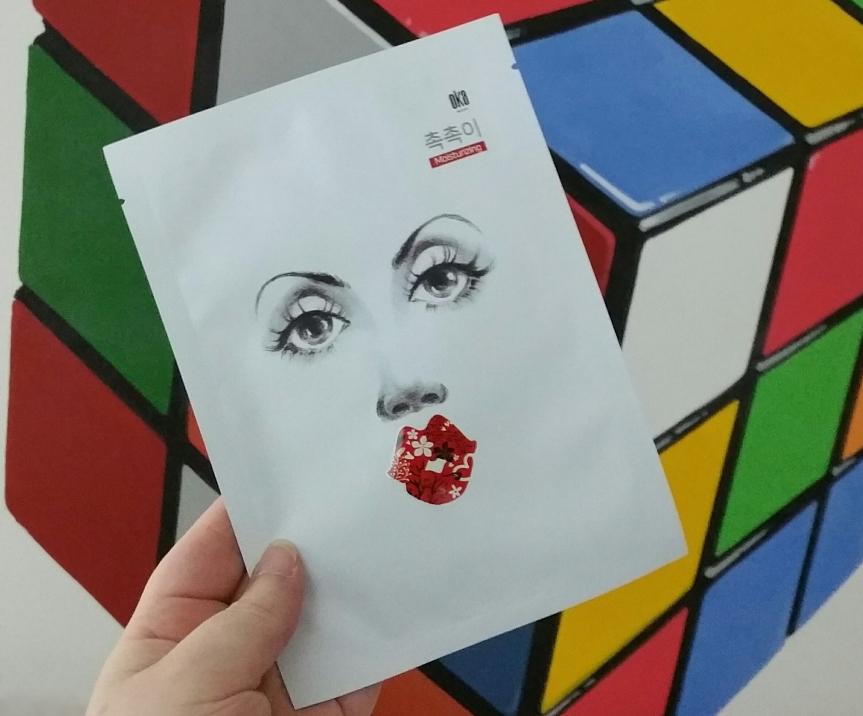 K-Beauty Expo – Oka Recipe Moisturizing Sheet MaskPack